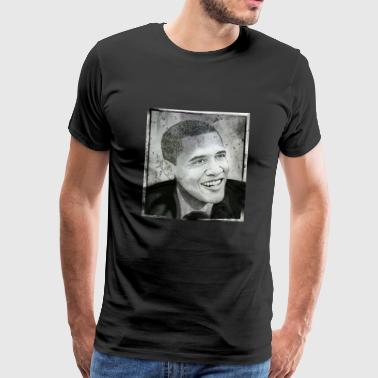 Obama - Premium T-skjorte for menn