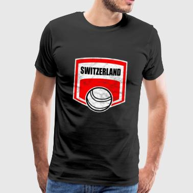 Fistball Zwitserland Team WM Gift - Mannen Premium T-shirt