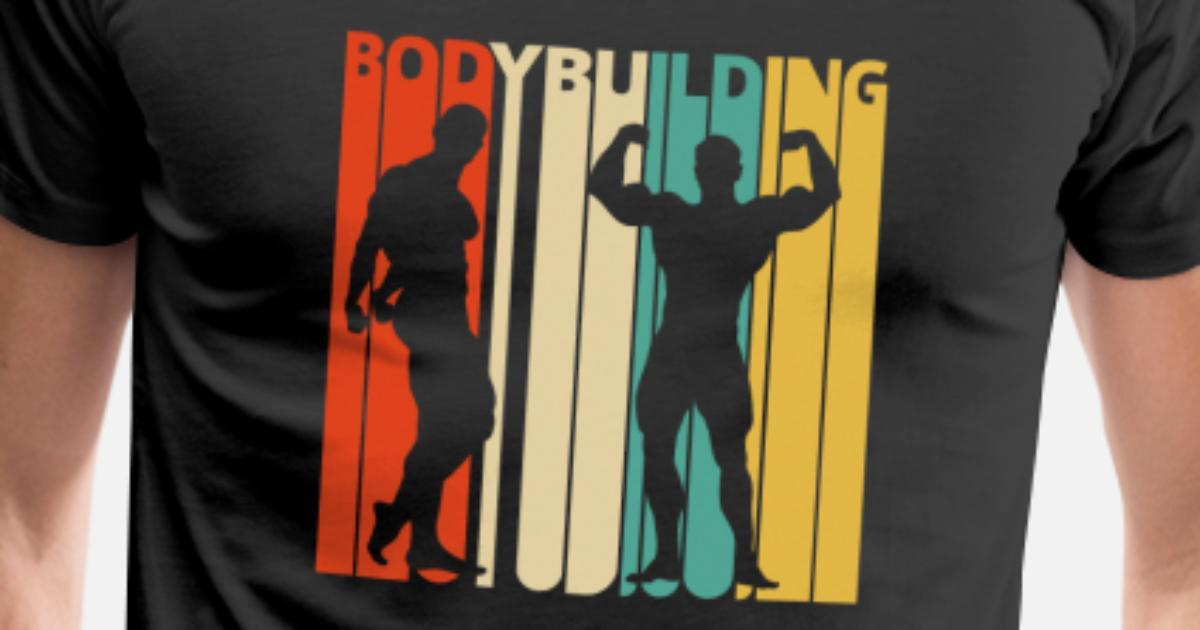 Vintage Retro Bodybuilding. Geschenke für Bodybuilder von ...