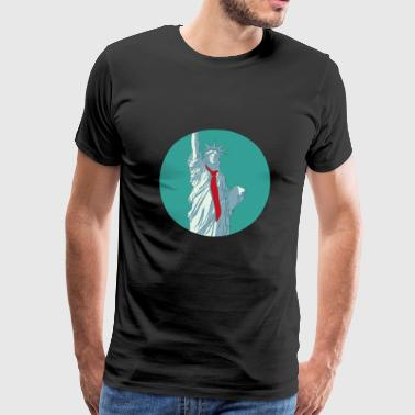 Lady Liberty Trump Liberty - Men's Premium T-Shirt