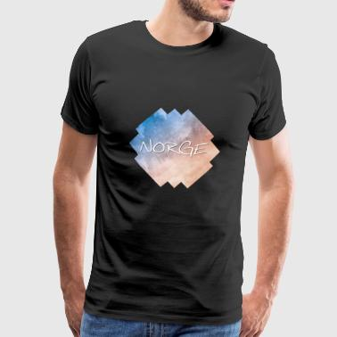 Norge - Norge - Premium-T-shirt herr