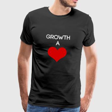 Aspie Growth at heart - GH's favorite tshirt - Men's Premium T-Shirt