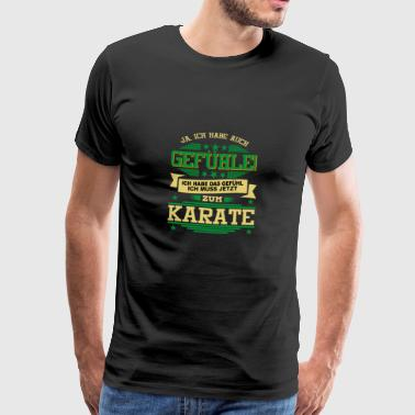 KARATE Martial Arts Hobby - Men's Premium T-Shirt
