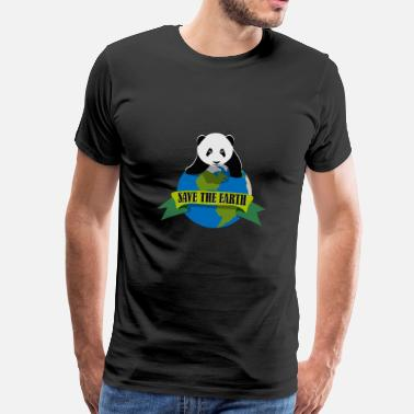 Save The Animals Protect the earth - Men's Premium T-Shirt