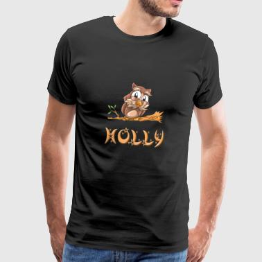 Eule Holly - Männer Premium T-Shirt