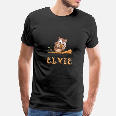 Elvis King Owl Elvie - Men's Premium T-Shirt