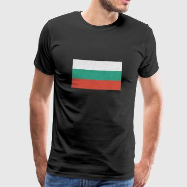 Bulgaria flag motif design gift idea Cool - Men's Premium T-Shirt