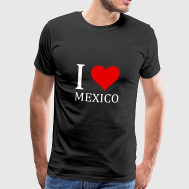 I love Mexico design - Men's Premium T-Shirt