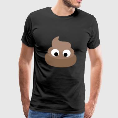 Funny shit heap poop - Men's Premium T-Shirt