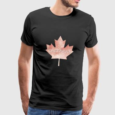 Ontario Maple Leaf - T-shirt Premium Homme