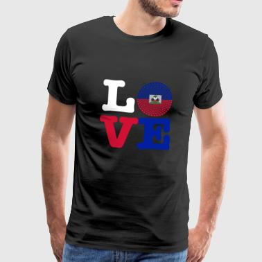 HAITI HEART - Men's Premium T-Shirt