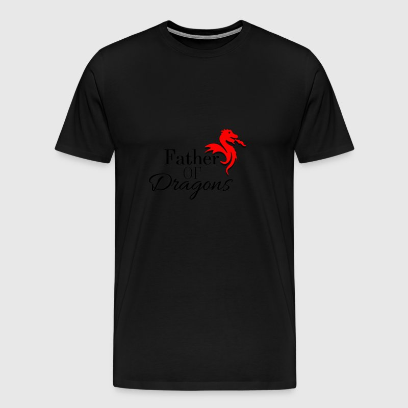 Father of Dragons - Männer Premium T-Shirt