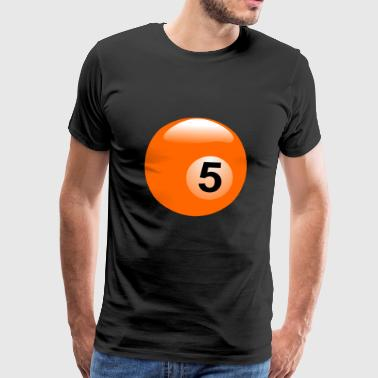pool billards billiards snooker queue ball sport20 - Men's Premium T-Shirt