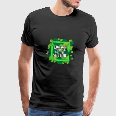 Nature - Premium-T-shirt herr
