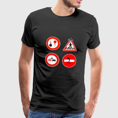Road signs - Men's Premium T-Shirt