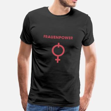 Woman Power Woman Power Power Design! - Men's Premium T-Shirt
