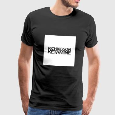 RICH KIDS ON KETAMINE - Men's Premium T-Shirt