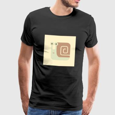 Little snail - Men's Premium T-Shirt