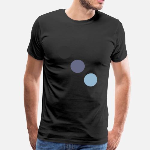 low priced cc4c8 e7c52 Drei farbige Punkte (diagonal, Herren) von | Spreadshirt