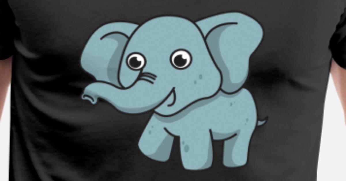 Elefant Comic Geschenk Tier Kind Rüssel niedlich von | Spreadshirt
