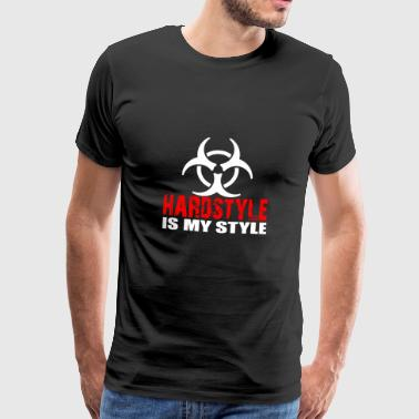 Hardstyle is my style - Men's Premium T-Shirt
