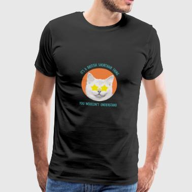 British shorthair - Men's Premium T-Shirt