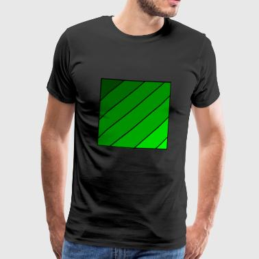 Transcending green - Men's Premium T-Shirt