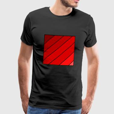 Transcending through Red - Men's Premium T-Shirt