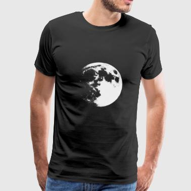 Moon sketch drawing - Men's Premium T-Shirt