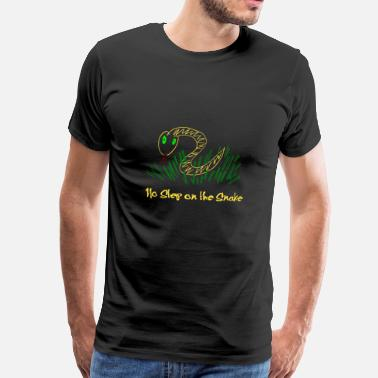 Step Brothers No Step on the Snake / Schritt auf die Schlange - Männer Premium T-Shirt