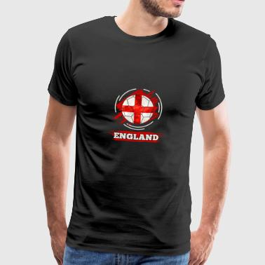 Soccer England Soccer Football - Men's Premium T-Shirt