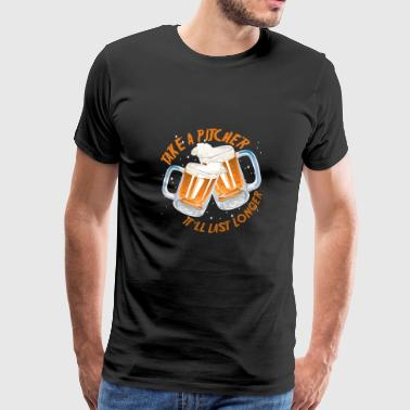Beer Alcohol Party Gift - Men's Premium T-Shirt