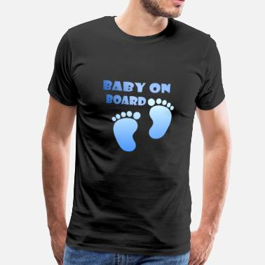 Baby On Board BABY ON BOARD 4000X4000 - Männer Premium T-Shirt