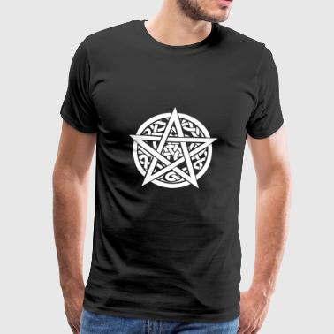 PAGAN CELTIC Pentagram SHIRT - Men's Premium T-Shirt