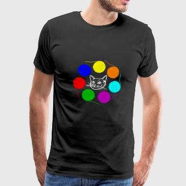Cat wool - Men's Premium T-Shirt