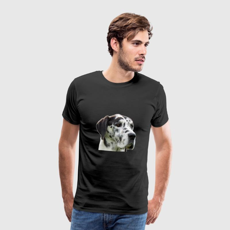 Deense dog manor - Mannen Premium T-shirt