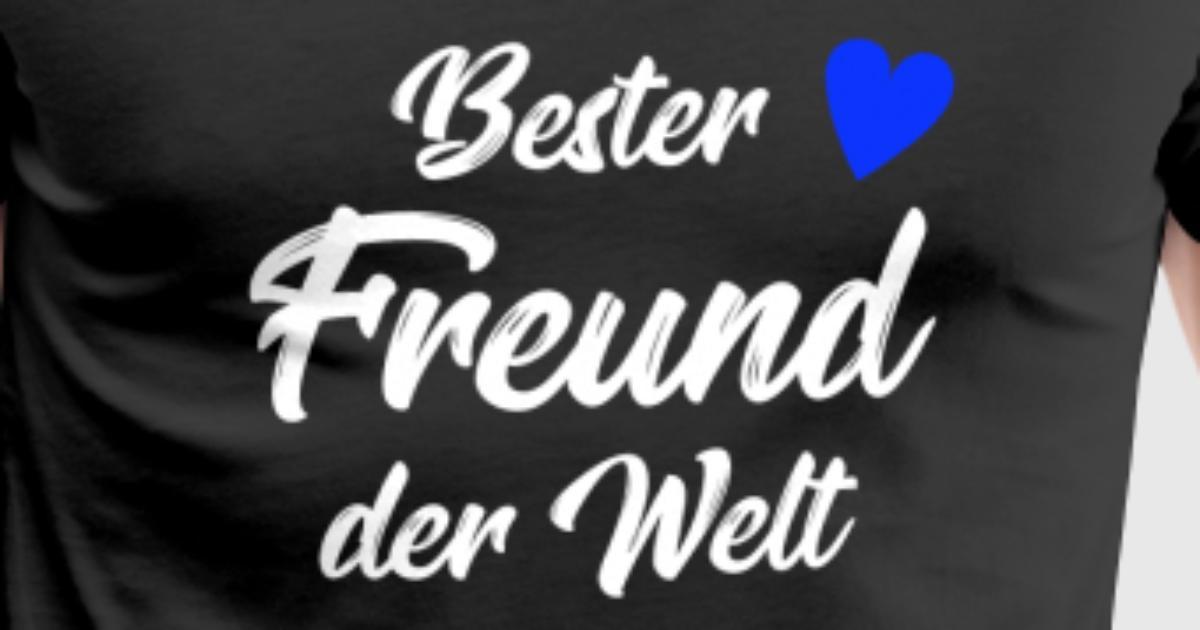 Freund Geschenk | Bester Freund der Welt von Lilettu | Spreadshirt