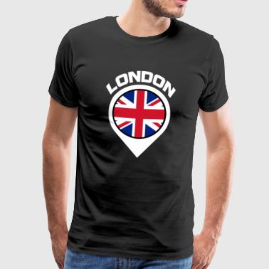 London City Pin - Men's Premium T-Shirt