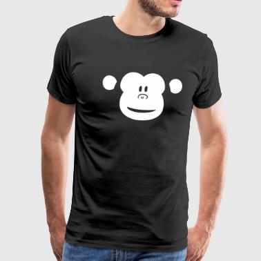 Cute Monkey (shop design) - Men's Premium T-Shirt