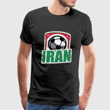 Iran Iran T-Shirt Football Fan cadeau de football - T-shirt Premium Homme