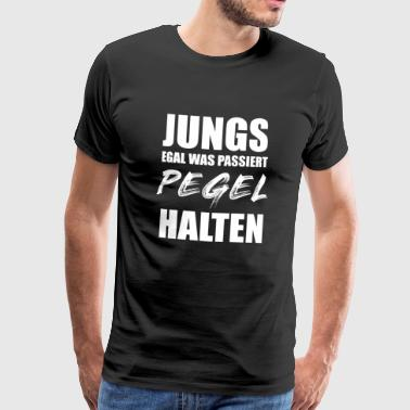 Mallorca Malle Party Crew Drinken Suff Alcohol - Mannen Premium T-shirt