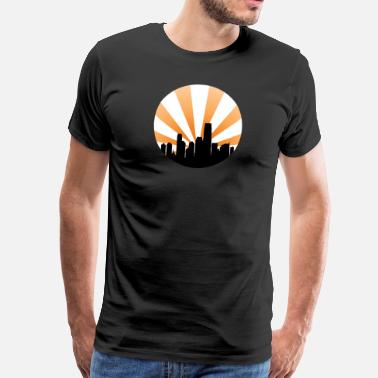 Cityscape City - Men's Premium T-Shirt