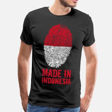 Indonesie Made In Indonesië / Indonesia - Mannen Premium T-shirt