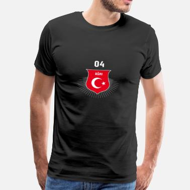 Agri Agri 04 Türkiye Turkey - Men's Premium T-Shirt