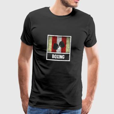 Vintage design for sports BOXING - Men's Premium T-Shirt