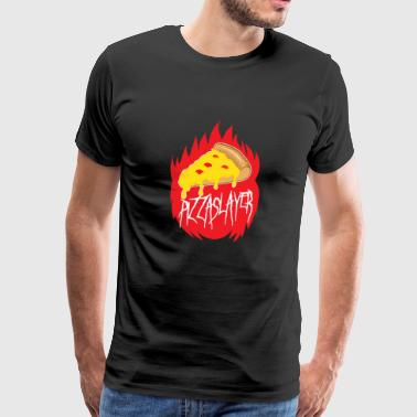 Pizza Slayer - Herre premium T-shirt