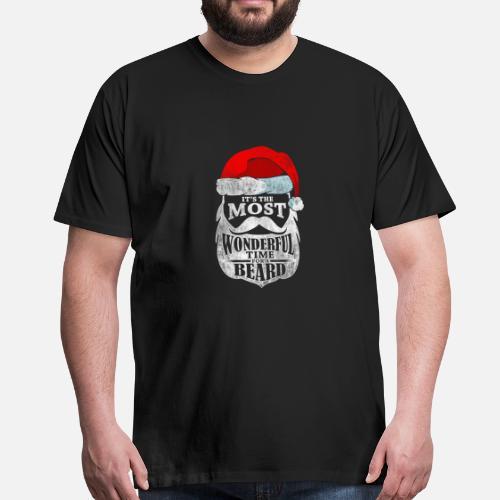 60c3d573dcd66 Les faits Bart Beard dictons cadeau Père Noël d hiver T-shirt premium Homme    Spreadshirt