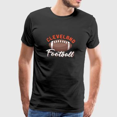 Cleveland Football - Men's Premium T-Shirt