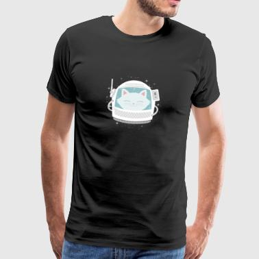 Space Cat Space Cat Space Astronaut Kitty - Men's Premium T-Shirt