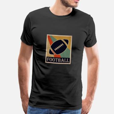 College Football football - Männer Premium T-Shirt